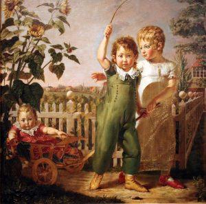 Philipp Otto Runge, Die Hülsenbeckschen Kinder, 1805. Hamburg, Hamburger Kunsthalle