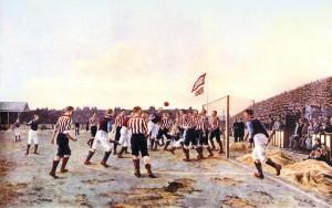 """Il primo quadro sul calcio: """"The Corner Kick"""" di Hemy"""