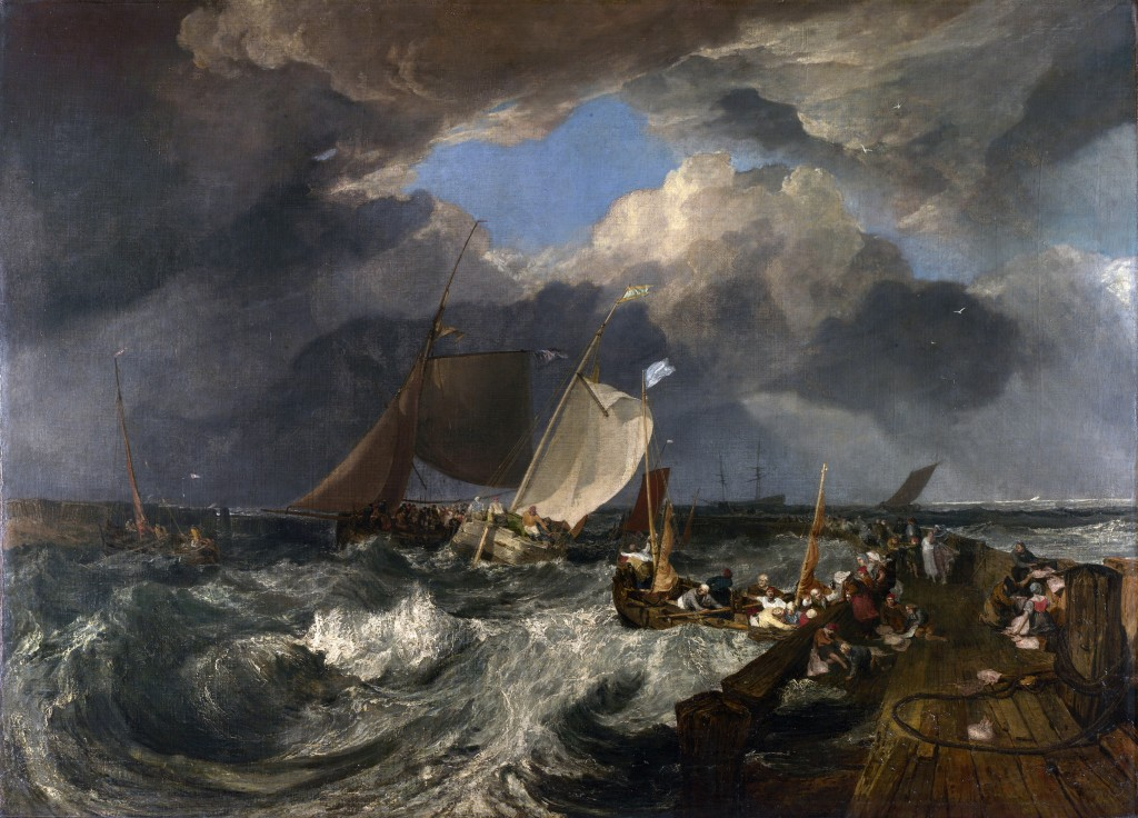 Joseph Mallord William Turner, The Pier of Calais, 1803. London, National Gallery