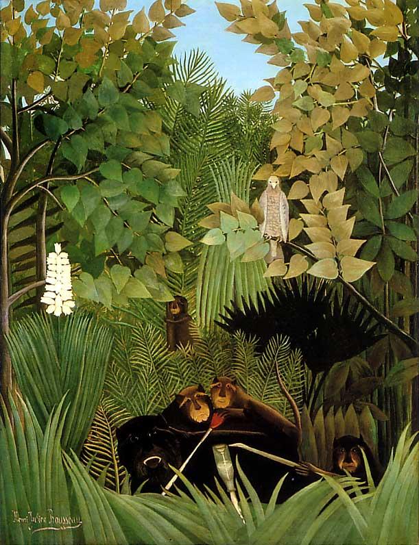 Henri Rousseau, Joyeux farceurs, 1906 c.