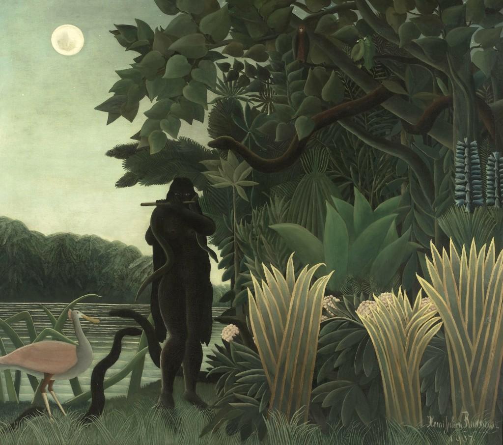 Henri Rousseau - La charmeuse de serpients, 1907