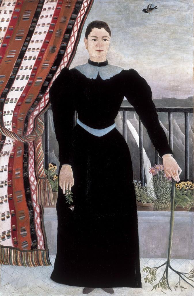 Henri Rousseau, Portrait de femme, 1895c.