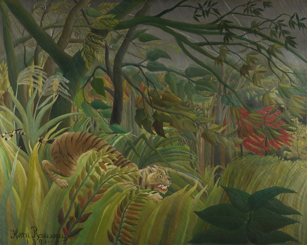 Henri Rousseau,Surprise!, 1891
