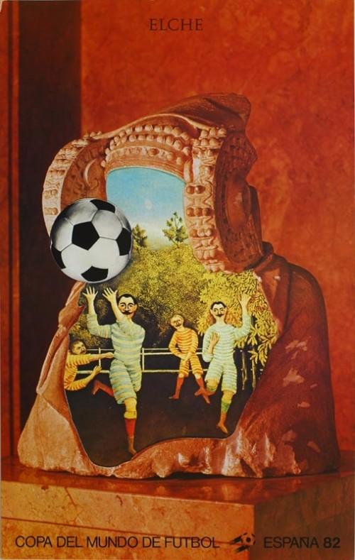 Jiří Kolář, Affiche di Elche (Monidali in Spagna del 1982)