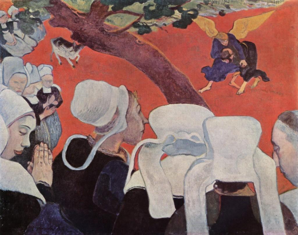Paul Gauguin, Vision après le sermon, 1888
