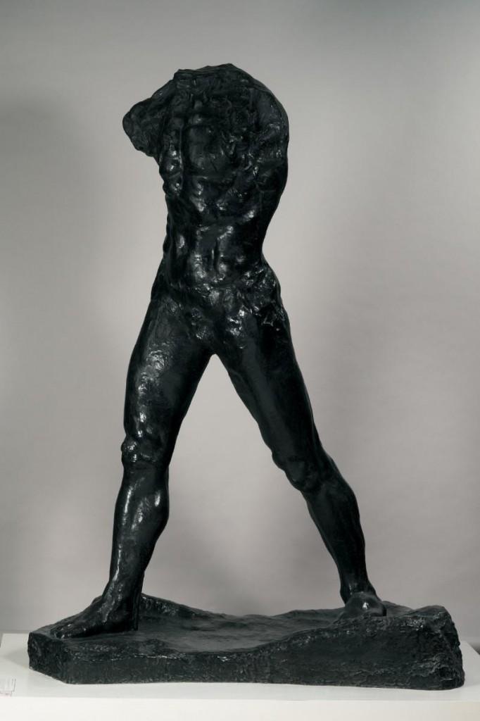 Auguste Rodin, L'homme qui marche, 1907