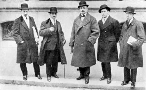 Futuristi a Parigi nel 1912