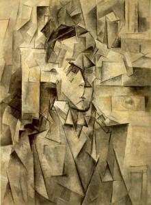 Pablo Picasso, Ritratto di Wilhelm Uhde, 1910. Collezione privata