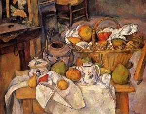 Paul Cézanne, La table de cuisine, 1888-1890. Paris, Musée d'Orsay