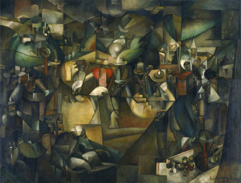 Albert Gleizes, Le Dépiquage des Moissons (Harvest Threshing), 1912. Oil on canvas, 269x353cm. Tokyo, National Museum of Western Art