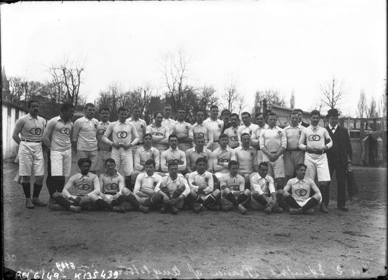 Francia rugby 1906