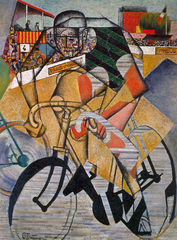 Jean Metzinger, Au vélodrome, 1912. Venezia, Peggy Guggenheim Collection