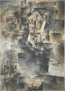 Pablo Picasso, Portrait of Daniel-Henry Kahnweiler, 1910