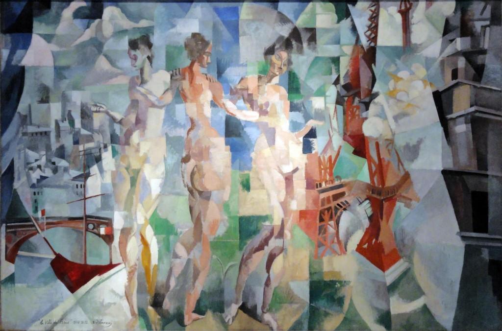 Robert Delaunay, La Ville de Paris, 1912. Paris, Musée d'Art Moderne de la Ville de Paris