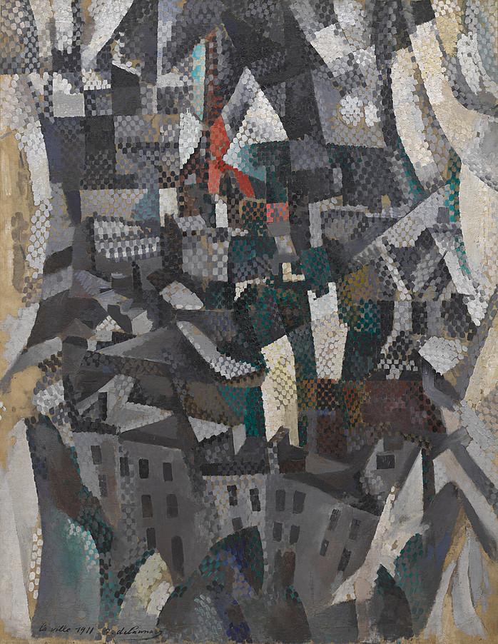 Robert Delaunay - La ville, 1911. New York, Solomon R. Guggenheim Museum