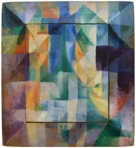 Robert Delaunay, Les Fenêtres simultanées sur la ville, 1912. Hamburg, Kunsthalle