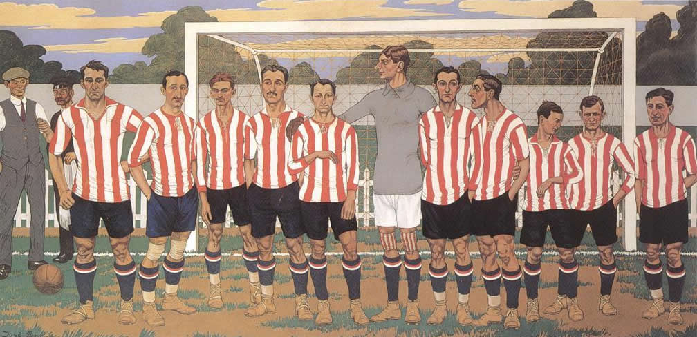 1915. José Arrúe, Athletic