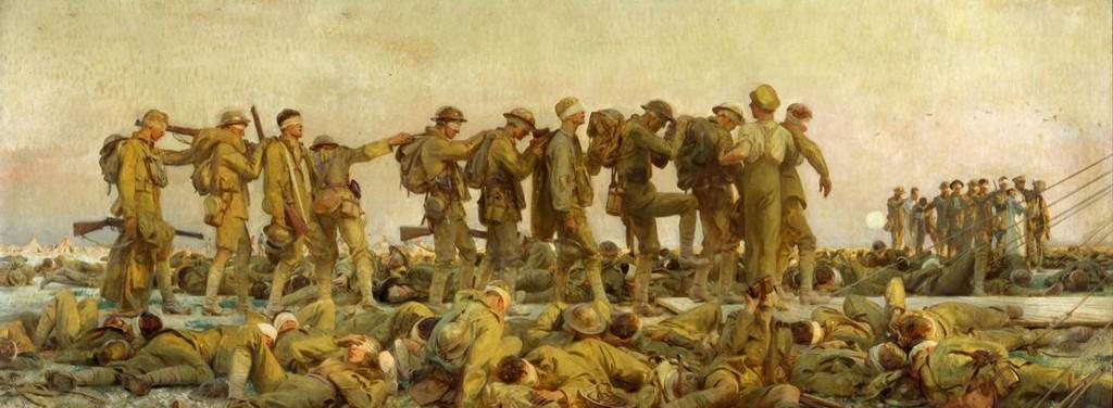 1919. John Singer Sargent, Gassed.