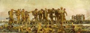"""Calcio e Prima Guerra Mondiale: """"Gassed"""" di John Singer Sargent"""