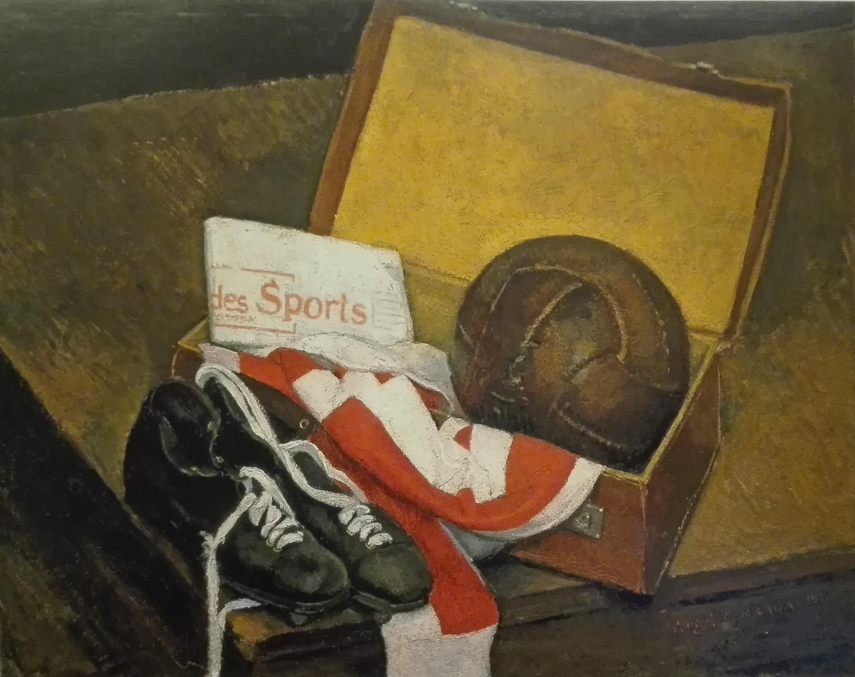 Spirit of Football 1931.-%C3%81ngel-Z%C3%A1rraga-Dimanche-Domingo.-Collezione-privata