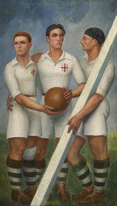 Entre deporte y religión. El fútbol y el rubgy en los cuadros de Ángel Zárraga