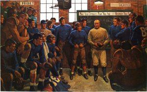 Storia e leggende del football americano universitario nei quadri di Arnold Friberg (prima parte)