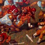 Historia y leyendas del fútbol americano universitario en los cuadros de Arnold Friberg (segunda parte)