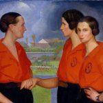 Fútbol y mujeres: los retratos de las futbolistas de Ángel Zárraga