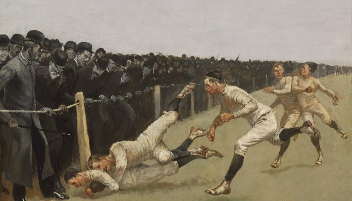 Frederic Remington artista del West e del football americano