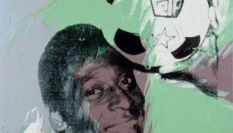 Calcio e pop art: il ritratto di Pelé di Andy Warhol